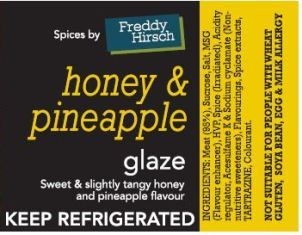 Freddy Hirsch Honey & Pineapple Glaze 1kg