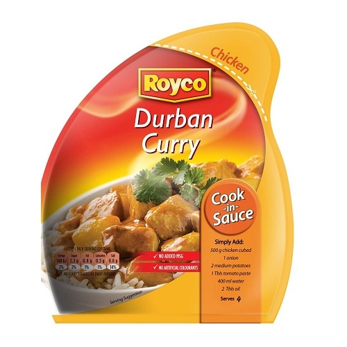 Royco Cook in Sauce Durban Curry 38g