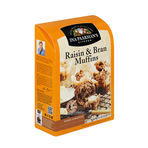 Ina Paarman Mix Raisin & Bran Muffins 700g