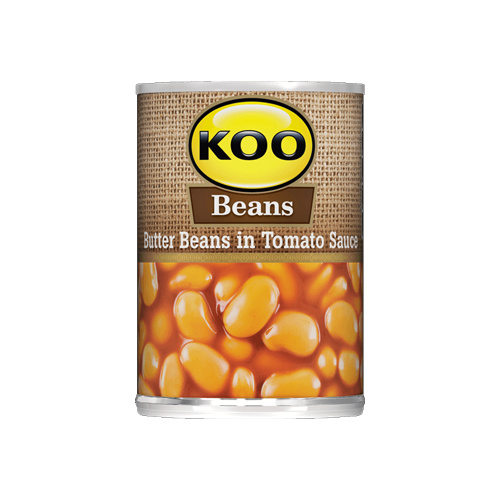 Koo Butter Beans in Tomato Sauce 420g