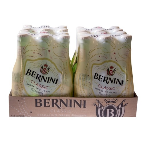 Bernini Classic Grape 275ml Carton of 24
