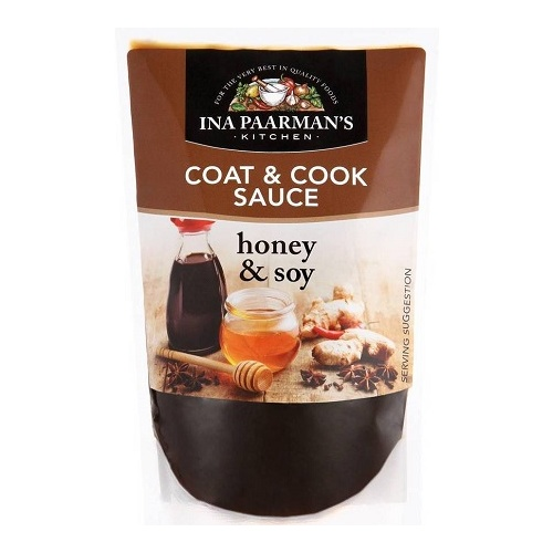 Ina Paarman Coat & Cook Honey Soy 200ml