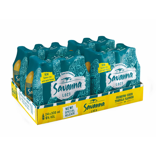 Savanna Loco 330ml Carton of 24